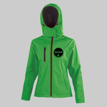 Rinka Instructor - Women's Core TX performance hooded softshell jacket